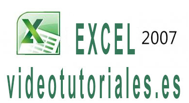 Curso de EXCEL 2007 en video tutorial gratis online